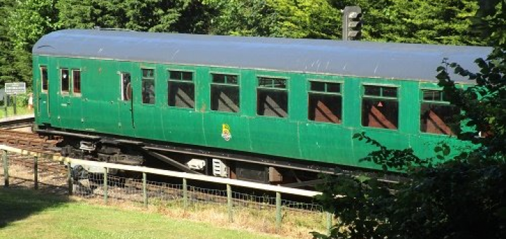 Further to our report on Thursday we have now completed the re-paint and  repair of the roof of coach 11187 except for some minor attention to the  sections ...