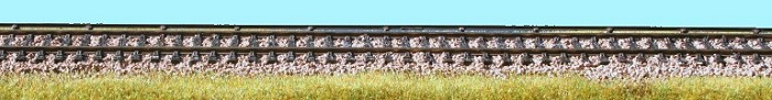 OO/HO gauge track with conductor rail