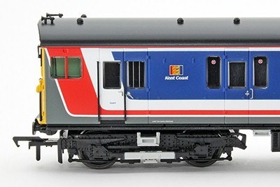 31-392 Bachmann 2Hap in Network SouthEast livery MBSO vehicle showing Kent Coast sub-sector branding