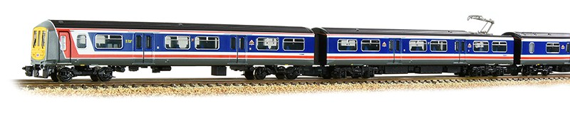 4 cars of Graham Farish 372-875 319004 in Network SouthEast livery